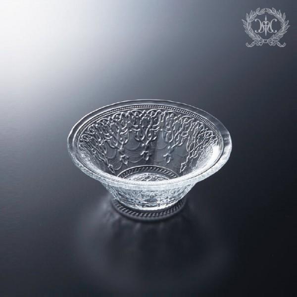 トルコ製の素敵なガラス食器 ボールSサイズ 1150 ガラスプレート 輸入食器 ガラス製 ケーキ皿 ディナー皿 ガラスボウル