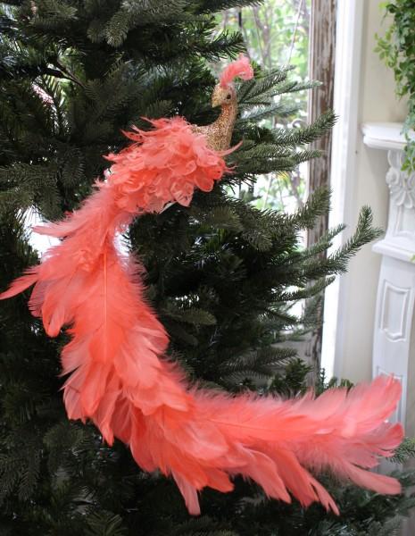 ★SALE・30★ ピンクスカイバード・ロングテール 鳥モチーフ  キャサリンズコレクション シャビーシック 北欧 フレンチ