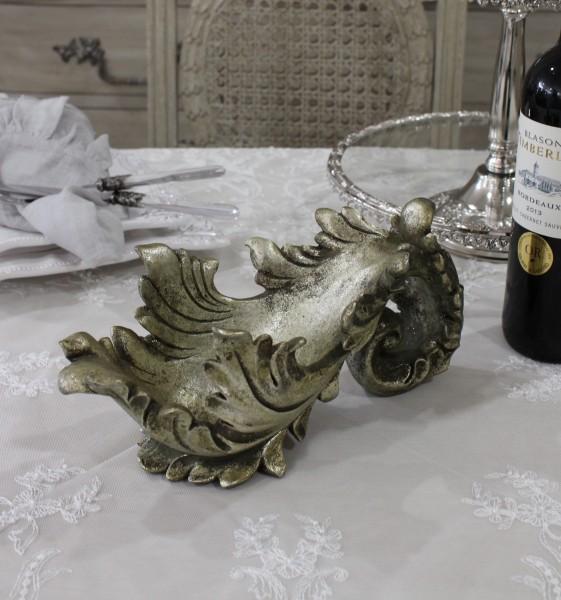 シャンパンゴールドのボトルホルダー(Bタイプ) ワインラック オブジェ ディスプレイ シャビーシック フレンチカントリー アン
