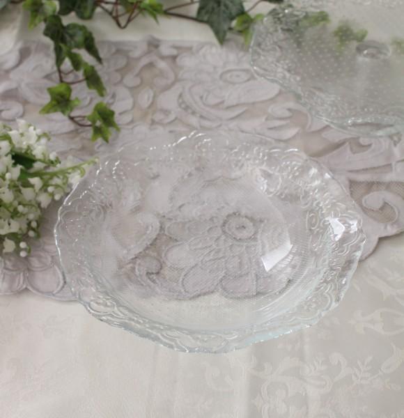 おしゃれ ガラス食器 オフィーリア・サラダボウル サラダボール アンティーク 食器 洋食器 ガラス製 トルコ製 アンティーク風