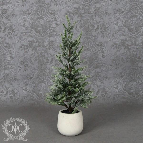 クリスマスツリー 小型 おしゃれ(フロストパインポットツリーS8208)クリスマスツリー オブジェ クリスマス ディスプレイ
