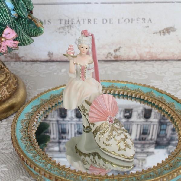 フェアリー ハイヒールオーナメント 8550 クリスマス 飾り 置物 オブジェ ヨーロピアン アンティーク風 アンティーク 雑貨 姫系