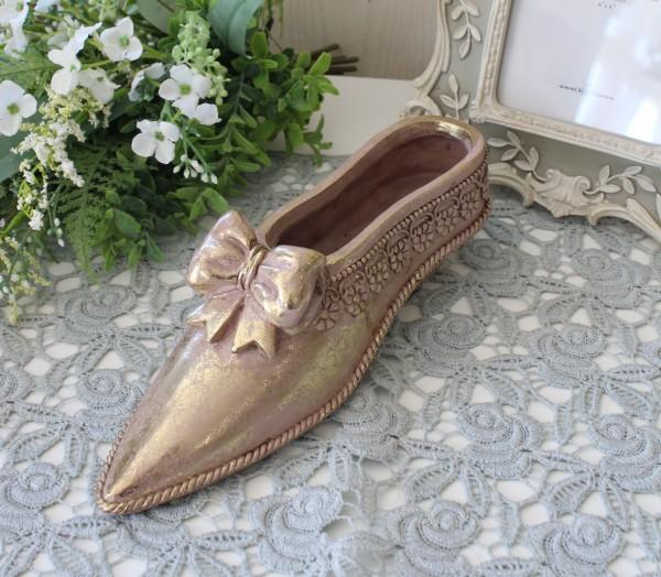 バロックシュープランター 8743  靴 置物 ヴィクトリアン 可愛い おしゃれ アンティーク風 雑貨 輸入雑貨 antique shabby chic