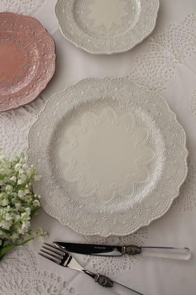 アンティーク 食器 【La Ceramica V.B.C ラ・セラミカ イタリア】 ディナー皿(022) ディナープレート イタリア製 輸入食器 シ