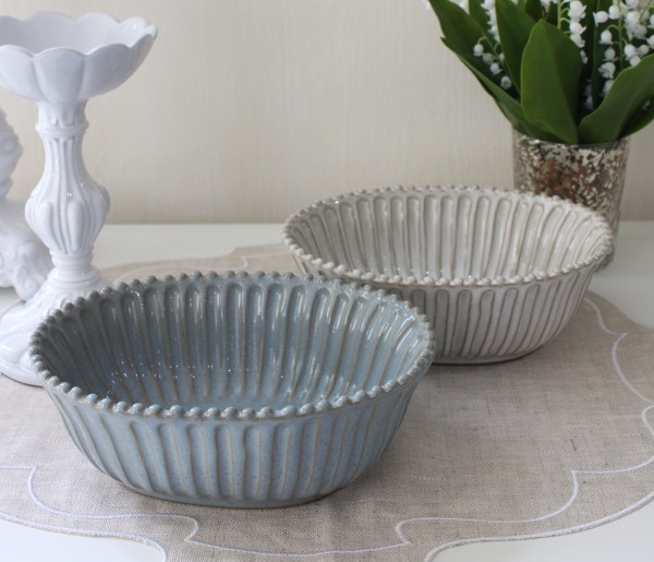 La Ceramica V.B.C ラ・セラミカ イタリア オーバルボウル(フォンダコ 111 113)調理皿 ベイク皿 陶器 イタリア製 輸入食器 フ