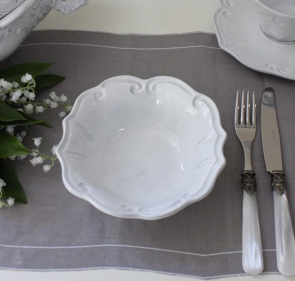 La Ceramica V.B.C ラ・セラミカ イタリア サラダボウル(ストライプ 064)ボウル 小鉢 陶器 イタリア製 輸入食器 フレンチカン