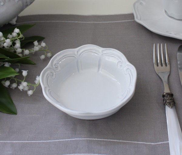 La Ceramica V.B.C ラ・セラミカ イタリア 平ボウル(ストライプ 072)ボウル 小鉢 陶器 イタリア製 輸入食器 フレンチカントリ