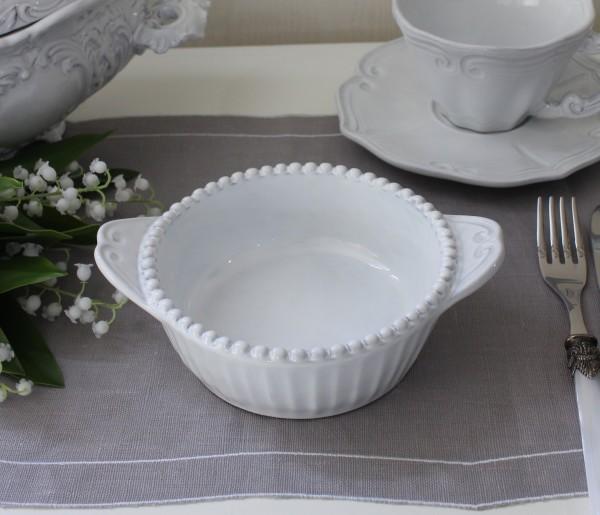 La Ceramica V.B.C ラ・セラミカ イタリア ベイクディッシュ(ストライプ 105)ベイク皿 調理皿 陶器 イタリア製 輸入食器 フレ