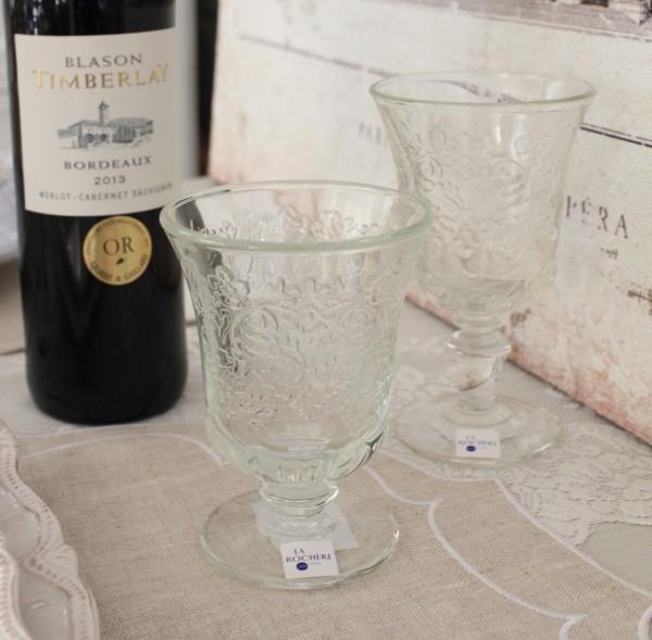 ガラスコップ ゴブレット(アンボワーズ 290cc) フランス製 【La Rochere】 ラロシェール アンポワーズ ウォーターグラス