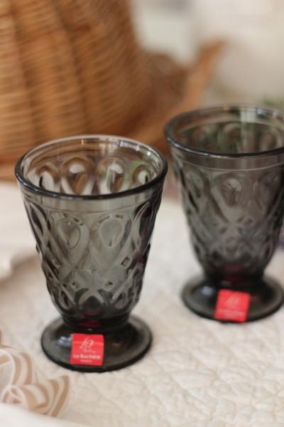 ガラスコップ (リヨネ・グレー200cc) 【La Rochere】 フランス製 ラロシェール ウォーターグラス タンブラー ガラス食