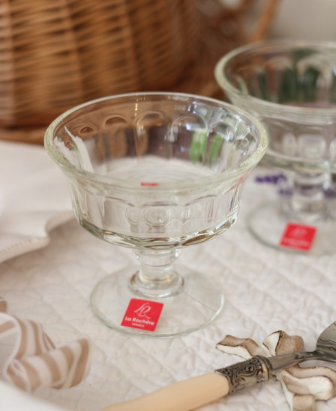 アイスカップ ガラス製(シャンパーニュ・220cc) 【La Rochere】 フランス ラロシェール デザート皿 デザートカップ アイ