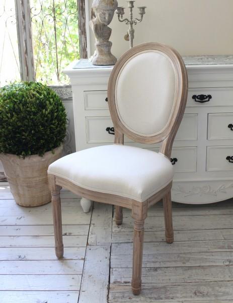 マチルドエム フランス チェア 椅子 木製 マチルドM Mathilde M. シャビーシック 布張り アンティーク風 輸入雑貨 アンティーク