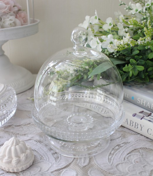 マチルドエム フランス ドームコンポート ガラス製 (159) ガラスケース 可愛い マチルドM Mathilde M. シャビーシック アンティ
