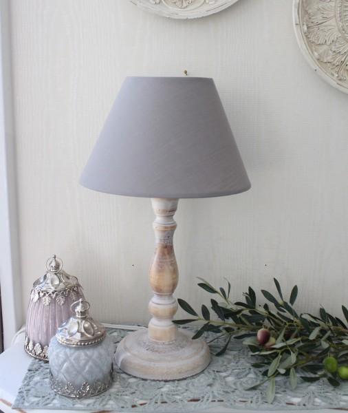 アンティークな卓上ランプ(ナチュラル・グレー24448003)テーブルランプ LED対応 おしゃれ アンティーク風 シャビーシッ