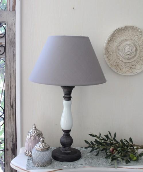 アンティークな卓上ランプ(セラミカ・24448001)テーブルランプ LED対応 おしゃれ アンティーク風 シャビーシック フレ