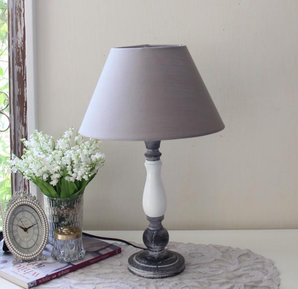 アンティークな卓上ランプ(ツートン 8001)テーブルランプ LED対応 おしゃれ アンティーク風 シャビーシック フレンチ