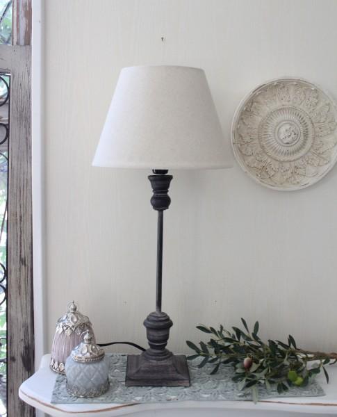 アンティークな卓上ランプ(メタル・24448004)テーブルランプ LED対応 おしゃれ アンティーク風 シャビーシック フレン