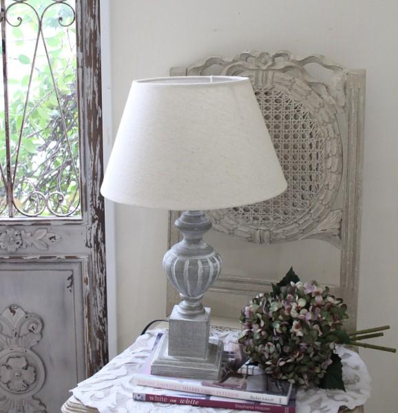 アンティークな卓上ランプ(パティネ・24448006)テーブルランプ LED対応 おしゃれ アンティーク風 シャビーシック フレ