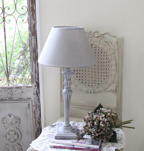 アンティークな卓上ランプ(ストライプ・24448007)テーブルランプ LED対応 おしゃれ アンティーク風 シャビーシック フ
