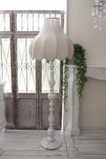 アンティークスタイルの大型フロアランプ フロアスタンド 床置き 照明 ランプ イタリア直輸入 シャビーシック アンティーク