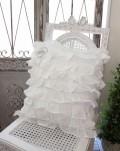 Blanc Mariclo・ブランマリクロ (FulFulシリーズ クッション パンヤ付き) 45cm角 クッション シャビーシック アン