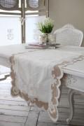 ★SALE・30★Blanc Mariclo ブランマリクロ Villa Borgheseシリーズ テーブルランナー テーブルセンター シャビーシック