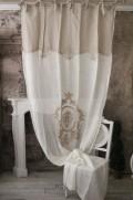 レースカーテン(REENE・B-8)イタリア直輸入 カーテン 間仕切り 紐タイプ シャビーシック アンティーク風 アンティーク 雑貨 フ