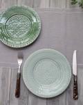 アンティークな輸入食器 ケーキプレート ケーキ皿(RUA NOVA/BG/GR) ボルダロ・ピニェイロ ポルトガル製 おしゃれ シャビーシッ