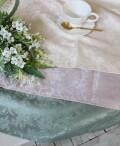 プチトリアノン テーブルクロス  撥水 長方形 130×170cm (ピンクベージュ・ライラック・グリーン) 可愛い 洗濯可 はっ水 ヨー