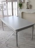 シャビーシックなダイニングテーブル カントリーコーナー 【Country Corner】 Gustavienコレクション ダイニングテーブル 机