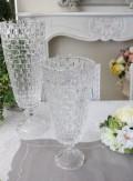 ガラス花器・ビエトラトールS 花瓶 ベース ヨーロピアン型 洋風 輸入雑貨 シャビーシック ヨーロピアン雑貨 アンティーク風