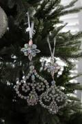 ★SALE★ クリスマスオーナメント♪ (ジュエルダングルオーナメント) シャビーシック 北欧 フレンチ ロマンティック