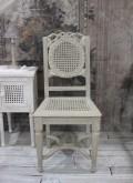 Coquecigrues コクシグル ダイニングチェア アンティーク風 椅子 アンティークホワイト GRIS ANTIQUE シャビーシック フレンチカ