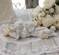 エンジェル オブジェ(090) 天使置物 ホワイト 可愛い ロマンティック 姫系 癒し ホワイト アンティーク風