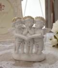 エンジェル オブジェ(100) 天使置物 ホワイト 可愛い ロマンティック 姫系 癒し ホワイト アンティーク風