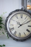 フレンチシックなアンティーク風 掛け時計 クォーツ時計 輸入雑貨 シャビーシック フレンチカントリー 姫系