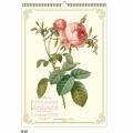 2019年  ルドゥーテ 壁掛けカレンダー大判 薔薇の香り付き 平成31年度  14枚つづり 日本製