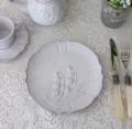 アンティーク風 フレンチ食器 ミュゲシリーズ プレートM ディナープレート ディナー皿 フレンチ食器 スズラン フランス アンテ