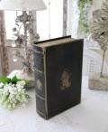 アンティークスタイルのブック型ボックス(Sサイズ) 小物入れ オブジェ フレンチカントリー アンティーク 雑貨 輸入雑貨 a