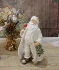 X'mas♪♪ サンタフィギュア サンタの置物 オブジェ クリスマス ディスプレイ シャビーシック フレンチカントリー アンティ