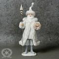 (SALE30)クリスマス雑貨 サンタフィギュア8146 サンタの置物 オブジェ クリスマス ディスプレイ シャビーシック フ