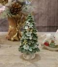 X'mas♪♪ リボンツリーデコ・ツリーの置物 オブジェ クリスマス ディスプレイ シャビーシック フレンチカントリー アンティ