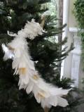 ★SALE・30★ ホワイトスカイバード・ロングテール 鳥モチーフ  キャサリンズコレクション シャビーシック 北欧 フレン