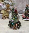★SALE・30★ X'mas♪♪ スノードーム・クライミングサンタ(オルゴール・おめでとうクリスマス) スノードーム オブジェ