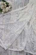 シャビーシックなレースのテーブルクロス(ホワイト)【LENE BJERRE DESIGN・デンマーク】テーブルクロス レース 刺繍 おしゃ