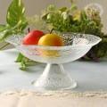 おしゃれ ガラス食器 オフィーリア・フルーツボウル  ケーキプレート アンティーク 食器 洋食器 ガラス製 トルコ製 アンティー