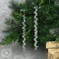 (SALE30)ツリーオーナメント(ビーズチェーンオーナメント・8192)クリスマスツリー オブジェ クリスマス ディスプレ