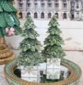 プレゼントツリーオブジェ ツリー 8509 クリスマス 飾り 置物 オブジェ ヨーロピアン アンティーク風 アンティーク 雑貨 姫系 輸