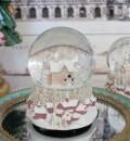 ピンクハウス スノードーム オルゴール 8608 クリスマス 飾り 置物 オブジェ ヨーロピアン アンティーク風 アンティーク 雑貨 姫