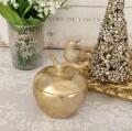 ゴールドバード アップルボックス 8620 クリスマス 飾り 置物 オブジェ 小鳥 ヨーロピアン アンティーク風 アンティーク 雑貨 姫